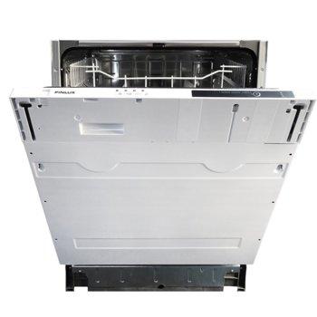 Съдомиялна за вграждане Finlux DFX 66440ABI, енергиен клас A+, 12 комплекта, 4 програми, 2 температури, бяла image