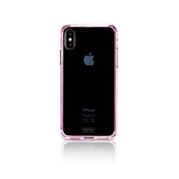 Калъф за iPhone X, протектор, термополиуретанов, Remax Creative RM-1651, розов image