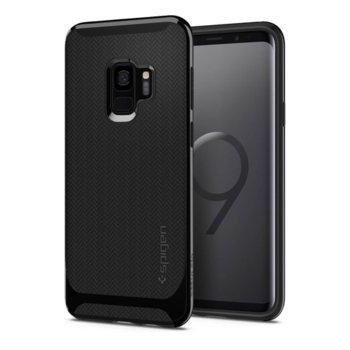 Калъф за Samsung Galaxy S9, Spigen Neo Hybrid Case, хибриден кейс с висока степен на защита, черен  image