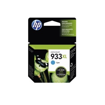 ГЛАВА HEWLETT PACKARD Officejet 6600/6700 e-All-in-One series, HP Officejet 6100 ePrinter - Cyan - (933XL) - P№ CN054AE - заб.: 825p image