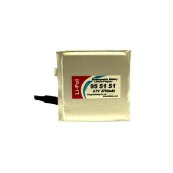 Литиева батерия LP955151, 3.7V, 2700mAh, Li-polymer, 1бр. image