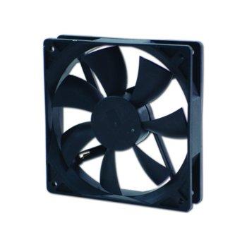 Вентилатор 120мм, EverCool EC12025SL12BA 2Ball 1200rpm image