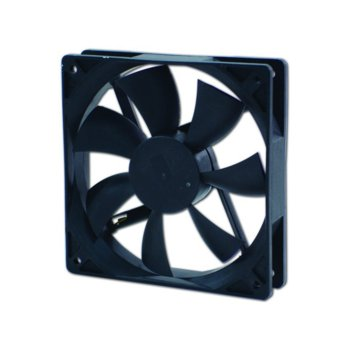 Вентилатор 120мм, EverCool EC12025SL12BA 2Ball, 3 Pin Molex, 1200rpm image