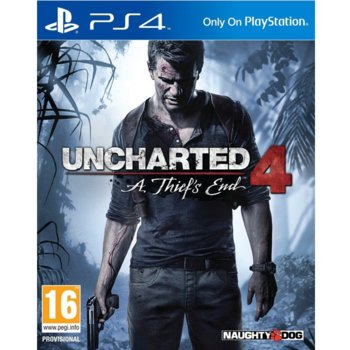 Игра за конзола Uncharted 4: A Thief's End Standard Plus Edition, за PS4 image