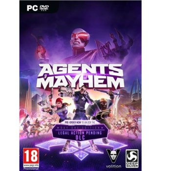 Игра Agents of Mayhem: Day One Edition, за PC image