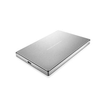 Твърд диск 2TB LaCie Porsche Design (сребрист), външен, USB-C 3.1 image