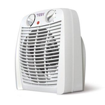 Вентилаторна печка Tesy HL 213 V, защита срещу прегряване, защита срещу замръзване, светлинен индикатор, регулируем термостат, 2000W, бяла image