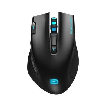 Мишка D i750, оптична(3000dpi), безжична, USB, черна, геймърска image