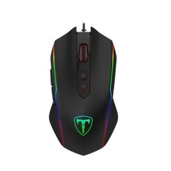 Мишка Redragon T-DAGGER T-TGM202, оптична (4800 dpi), USB, 8 бутона, черна image