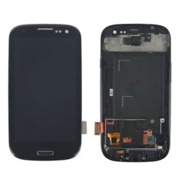 Samsung Galaxy i9300 S3 touch and frame Black Org product