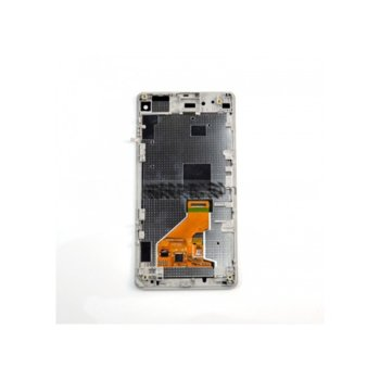 Sony Xperia Z1 mini LCD + touch and frame, White product
