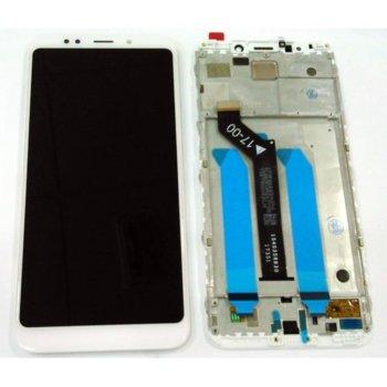 Дисплей за Xiaomi Redmi 5 Plus / Redmi Note 5 с тъч, оригинален, бял image