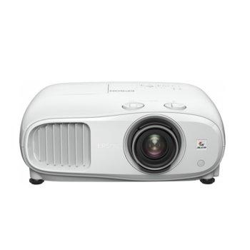 Проектор Epson EH-TW7000, 3LCD, 3D, 3840 x 2160 (4K/UHD), 40 000 : 1, 3000 lm, HDMI, USB, Audio in, Bluetooth  image