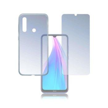 Протектор от закалено стъкло /Tempered Glass/, 4smarts, за Xiaomi Redmi Note 8T, силиконов (TPU) кейс image