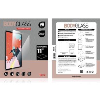 Протектор от закалено стъкло /Tempered Glass/, Torii IPD1811-BDG-01, за iPad Pro 11 2018 image