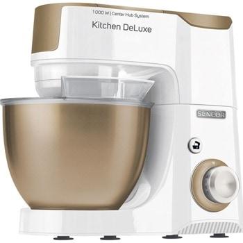 Кухненски робот Sencor STM 4467CH, 1000W, 8 скорости, 4.5 л. капацитет, бял image