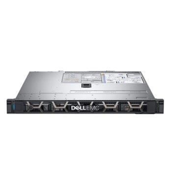 Сървър Dell PowerEdge R340 (PER340CEE03VSP), шестядрен Coffee Lake Intel Xeon E-2146G 3.5/4.5 GHz, 16GB DDR4 UDIMM, 2x2000GB HDD, 1GbE LOM, 3x USB 3.0, без ОС, (1+1) 550W PSU image