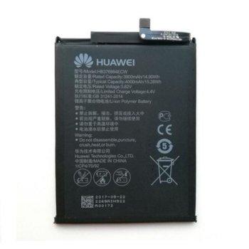 Батерия (оригинална) Huawei HB376994ECW, за Huawei Honor 8 Pro, 4000mAh/3.82V, bulk image