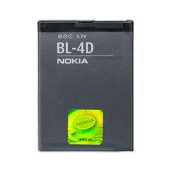 Батерия (оригинална) Nokia BL-4D за Nokia Lumia E5-00/E7-00/N8/N97 Mini, 1200mAh/3.7V, Bulk image