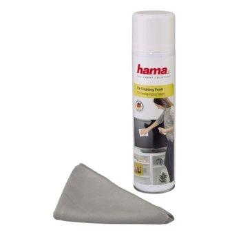 Почистващ спрей Нama 95853 за TV/LCD дисплеи, 400 ml + кърпичка image