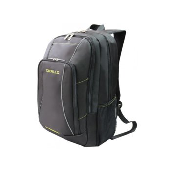 "Раница за лаптоп Dicallo LLB9963-17, до 17.3"" (43.94 cm), черна image"