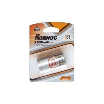 Батерии 2x Konnoc Profesional HR6 AA 2800mAh product