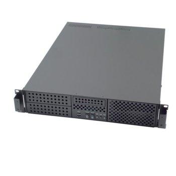 Кутия AIC RMC-2P-0-2, 2U rack mount, mini tower без захранване image