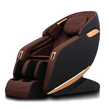 Масажен стол Rexton Z1-BR, 3D масаж, SL-Track механизъм, инфрачервено затопляне, вграден пулт за управление, 12 автоматични програми, Bluetooth, кафяв image