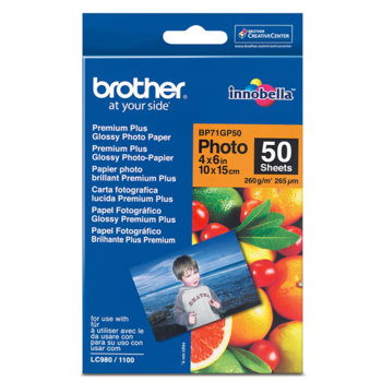 ХАРТИЯ BROTHER BP-71 A6 PREMIUM GLOSSY PHOTO PAP… product