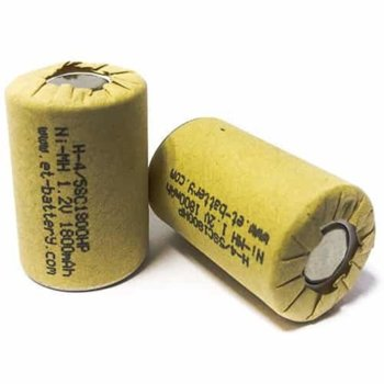 Акумулаторна батерия Energy Technology 4/5SC1800HP-H, 4/5SC, 1.2V, 1800mAh, Ni-Mh, 1 брой image