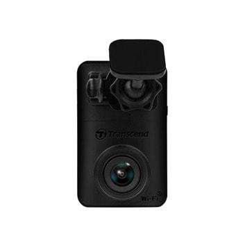 Видеорегистратор Transcend DrivePro 10, камера за автомобил, Full HD 1080P@30fps, включена 32GB microSD карта, USB, Wi-Fi, черен image