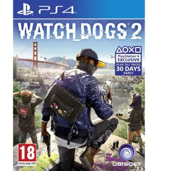Игра за конзола WATCH_DOGS 2 Standard Editions, за PS4 image