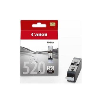 Касета за Canon PIXMA iP4600/MP630 - PGI-520BK - Black - 19ml image