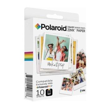 Фото хартия Polaroid Zink Media 3x4 inch - 10 pack image