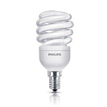 Енергоспестяваща крушка Philips Economy Twister, E27, 12W (60W), 741lm, топло бялa 2700K image