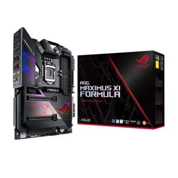 Дънна платка Asus ROG Maximus XI Formula, Z390, LGA1151, DDR4, PCI-Е (HDMI&VGA), (SLI&CFX), 6x SATA 6.0 Gb/s, 2x M.2 socket, 4x USB 3.1 Gen 2, Wi-Fi, Bluetooth, ATX image