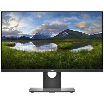 """Монитор Dell P2418D, 23.8"""" (60.45 cm) IPS панел, QHD, 5ms, 1 000:1, 300cd/m2, DisplayPort, HDMI, USB image"""
