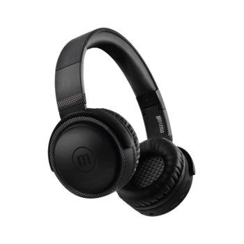 Слушалки Maxell BTB52, безжични, микрофон, Bluetooth, 3,5 mm, до 8 часа време на работа, microUSB, черни image