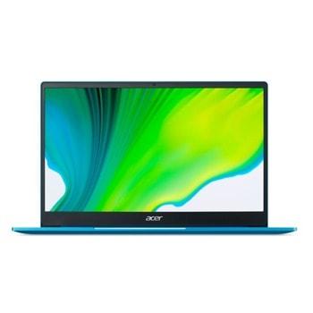 "Лаптоп Acer Swift 3 SF314-59-34DP (NX.A0PEX.00A)(син), двуядрен Tiger Lake Intel Core i3-1115G4 3.0/4.1 GHz, 14.0"" (35.56 cm) Full HD IPS Anti-Glare Display, (HDMI), 8GB DDR4, 256GB SSD, 1x USB Type-C, No OS image"