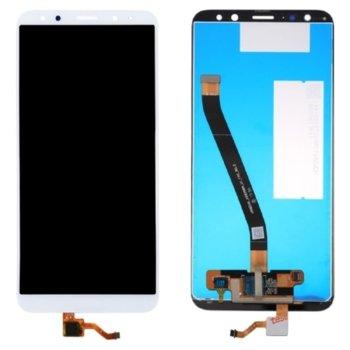 Дисплей за Huawei Mate 10 Lite, LCD Original, с тъч, бял image