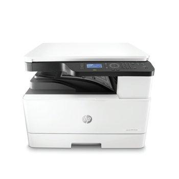 Мултифункционално лазерно устройство HP LaserJet MFP M433a, монохромен, принтер/копир/скенер, 600 x 600 dpi, 20 стр/мин, USB, A3  image