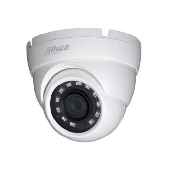 HDCVI камера Dahua HAC-HDW1400M-0280B, куполна, 4 Mpix(2560x1440@25fps), 2.8mm обектив, IR осветеност(до 30 метра), външна, IP67 защита image