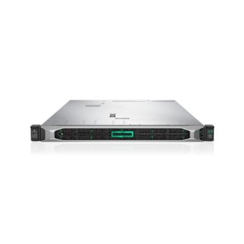 Сървър HPE DL360 G10 (PERFDL360-012), дванадесетядрен Intel Xeon-Silver 4214 2.2 GHz, 32GB DDR4, без твърд диск, 4x 1GbE, без ОС, USB, DP, VGA, 2x 500 W image