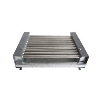 Електрическа скара RUBINO ЕС 0.9, нагреватели от неръждаема стомана, без капак, 900W image