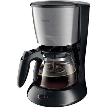 Кафемашина Philips HD7462/20, 1000W, 15 bar, капацитет на резервоара за вода 1.2л, автоматично изключване, система против капене, черна image