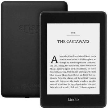 """Електронна книга Amazon Kindle Paperwhite 2018, черен, 6"""" (15.24 cm), 8GB Flash памет, WiFi, 182 g image"""