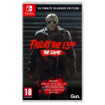 Игра за конзола Friday the 13th: The Game: Ultimate Slasher Edition, за Nintendo Switch image