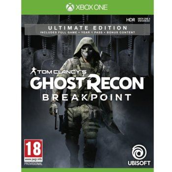 Игра за конзола Tom Clancy's Ghost Recon Breakpoint Ultimate Edition, за Xbox One image