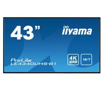 Iiyama LE4340UHS-B1 product