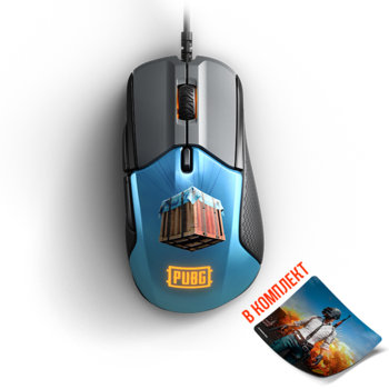 SteelSeries Rival 310 PUBG Edition + QcK+ Limited  product